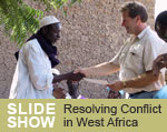 Slideshow - Resolving conflict in West Africa